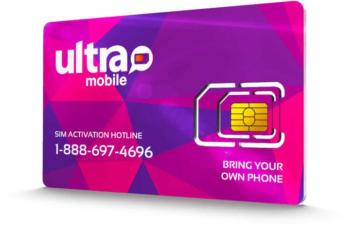Ultra Mobile<sup>&reg;</sup> SIM Cards