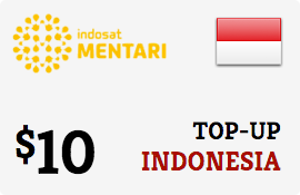 Buy the $10.00 Mentari Indosat Indonesia Prepaid Wireless Top-Up | On SALE for Only $10.00