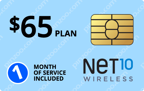 $75.00 Net10® Prepaid Wireless SIM Cards