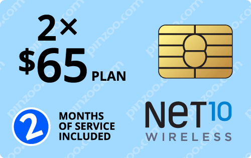 $140.00 Net10® Prepaid Wireless SIM Cards