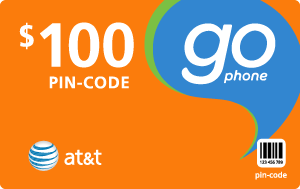 Buy the $100.00 AT&T Go Phone® Refill Minutes Instant Prepaid Airtime | On SALE for Only $98.99