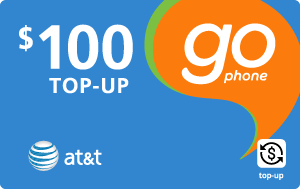 Buy the $100.00 AT&T Go Phone® Real Time Refill Minutes | On SALE for Only $98.99