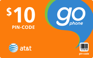 Buy the $10.00 AT&T Go Phone® Refill Minutes Instant Prepaid Airtime | On SALE for Only $9.95