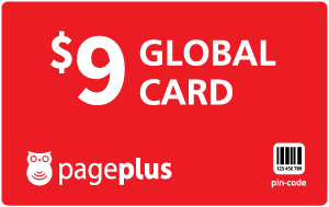 $9.00 Page Plus® Refill Minutes Instant Prepaid Airtime