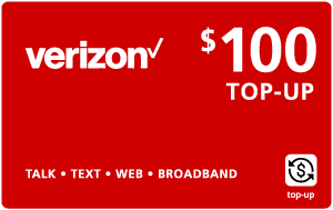 Buy the $100.00 Verizon Wireless® Real Time Refill Minutes | On SALE for Only $99.59