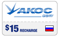 $14.89 Akos Russia Real-Time Refill