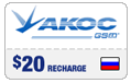 $19.69 Akos Russia Real-Time Refill