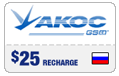 $24.59 Akos Russia Real-Time Refill
