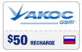 $48.99 Akos Russia Real-Time Refill