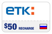 Buy the $50.00 ETK Enisey Telecom Real Time Refill Minutes | On SALE for Only $48.99