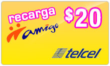 Buy the $20.00 TelCel Mexico Real Time Refill Minutes | On SALE for Only $20.00