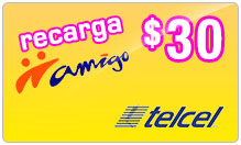 Buy the $30.00 TelCel Mexico Real Time Refill Minutes | On SALE for Only $30.00