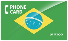 Brazil PINZOO Power Brazil Phone Cards