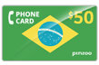 $60.0000 PINZOO Power Brazil Phone Cards