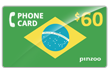 $80.0000 PINZOO Power Brazil Phone Cards