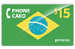 $20.0000 PINZOO Power Brazil Phone Cards