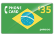 $40.0000 PINZOO Power Brazil Phone Cards