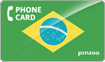 PINZOO Power Brazil Phone Cards & Calling Cards