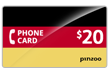 $20.0000 PINZOO Power Germany Phone Cards