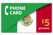 $10.0000 PINZOO Power Mexico Phone Cards