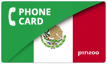 Mexico PINZOO Power Mexico Phone Cards