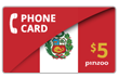$10.0000 PINZOO Power Peru Phone Cards