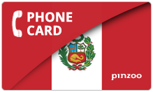 Peru PINZOO Power Peru Phone Cards