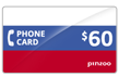 $60.0000 PINZOO Power Russia Phone Cards