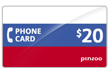 $20.0000 PINZOO Power Russia Phone Cards