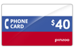 $40.0000 PINZOO Power Russia Phone Cards