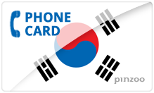 South Korea PINZOO Power South Korea Phone Cards