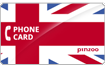 PINZOO Power U.K. Phone Cards & Calling Cards