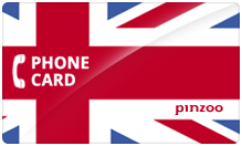 United Kingdom PINZOO Power U.K. Phone Cards