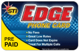 STI Edge International & Domestic Phone Calling Cards
