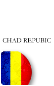 Chad Republic PINZOO Bronze Phone Cards