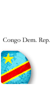 Congo Dem. Republic PINZOO Platinum Phone Cards
