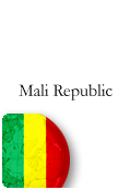 Mali Republic PINZOO Bronze Phone Cards