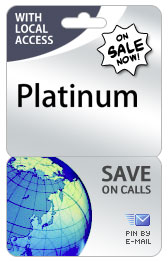 Lebanon PINZOO Platinum Phone Cards