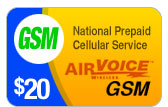 Buy the $20.00 Airvoice GSM Refill Minutes Instant Prepaid Airtime | On SALE for Only $19.79