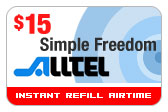 Buy the $15.00 Alltel Wireless Refill Minutes Instant Prepaid Airtime | On SALE for Only $14.89