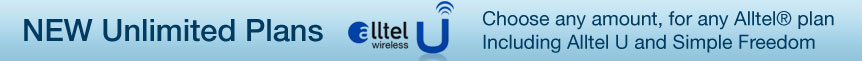 New Alltel Wireless Prepaid Online Refill AMounts on Sale