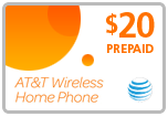 Buy the $20.00 AT&amp;T Go Phone<sup>&reg;</sup> Refill Minutes Instant Prepaid Airtime | On SALE for Only $19.59