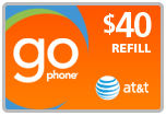 $39.19 AT&T Go Phone PIN Refill Airtime Minutes