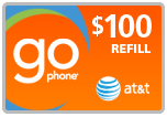 $96.99 AT&T Go Phone PIN Refill Airtime Minutes