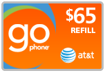 $63.49 AT&T Go Phone PIN Refill Airtime Minutes