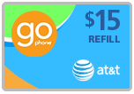 $14.69 AT&T Go Phone Real-Time Refill