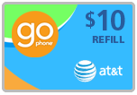 $9.79 AT&T Go Phone Real-Time Refill