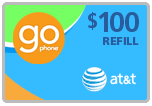 $96.99 AT&T Go Phone Real-Time Refill