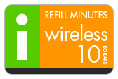 Buy the $10.00 I-Wireless Refill Minutes Instant Prepaid Airtime | On SALE for Only $9.95