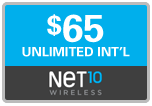 $64.69 Net10 Refill Airtime Minutes